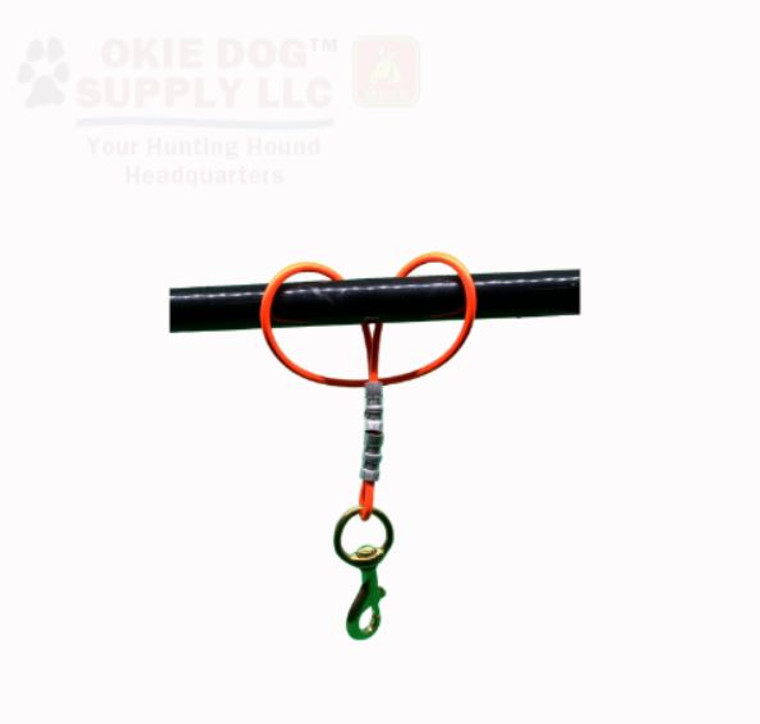 okie dog supply striker ties - for strike dogs or scent hounds