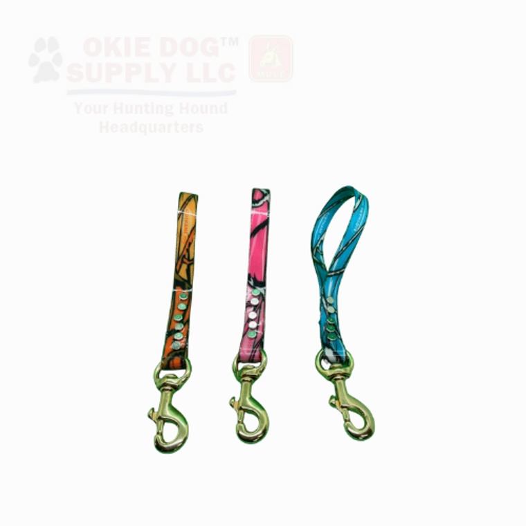 okie dog supply traffic lead for head to shoulder control - available in beta, dayglo, reflective or camo