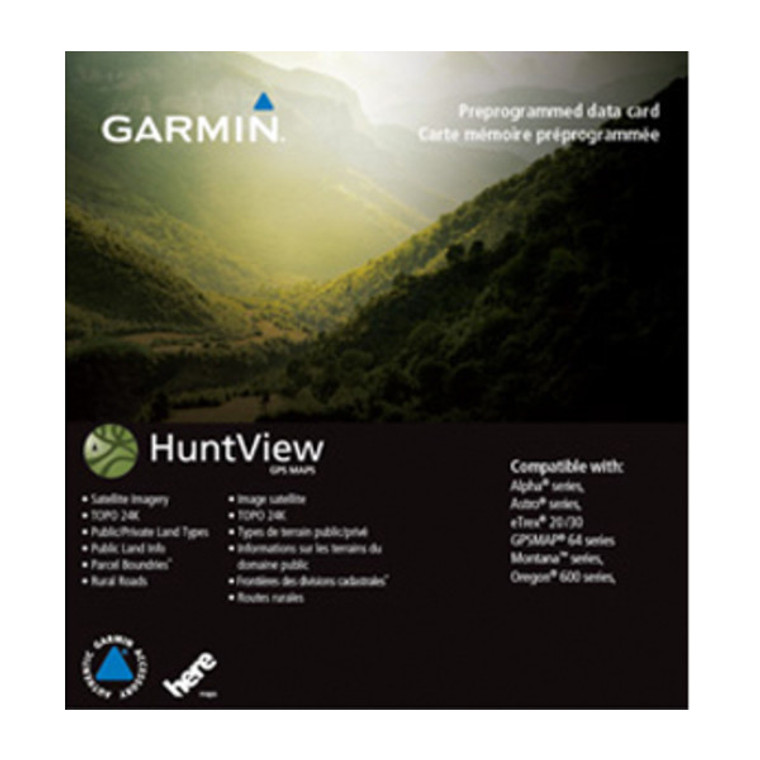 garmin huntview map with birdseye imagery and landowner information at okie dog supply