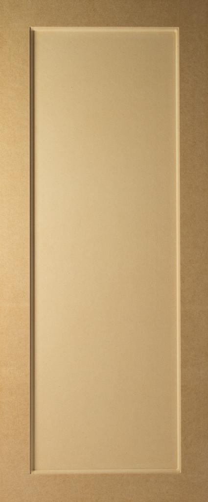 Square Flat Panel MDF Door