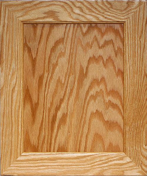 Flat Panel Mitered Door Plywood Center