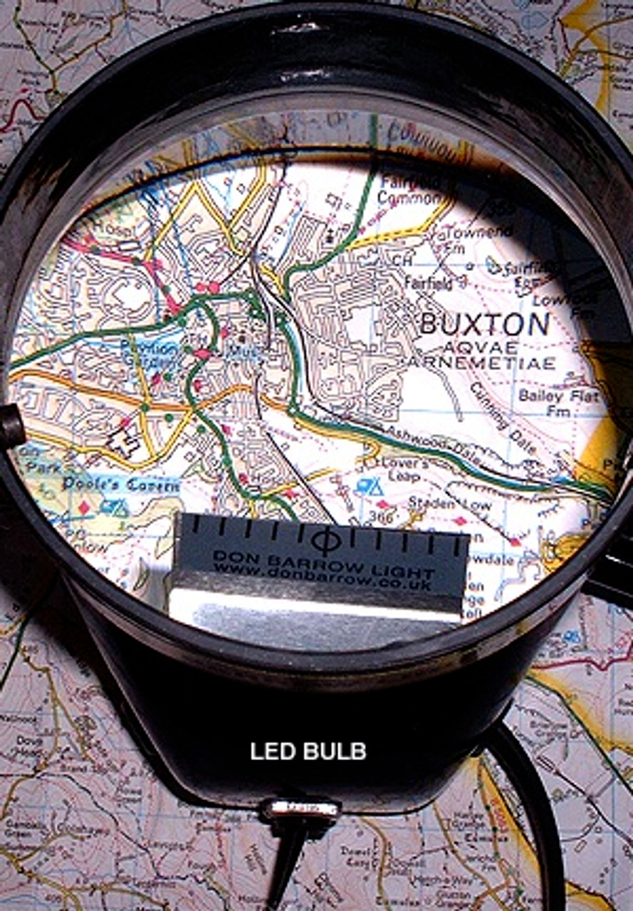 Don Barrow DB8LED+ Map Magnifier