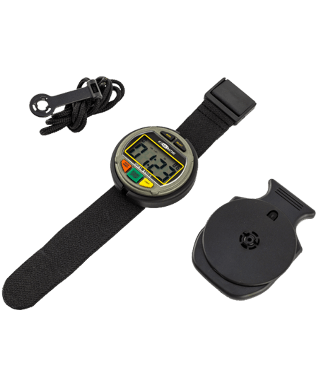 DOn Barrow Fastime AST11 Rally AST 11 Stopwatches 24 hr Digital Chronograph, Big Digit Stopwatch, Cumulative or Split, Count Up Count Down, Velcro Wriststrap, Great for Regularity Sections