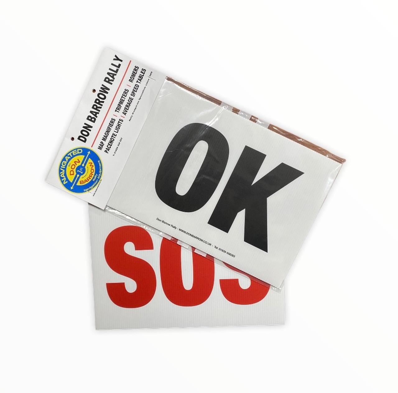 OK-SOS board for Motorsport