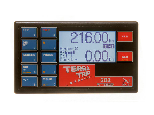 Terratrip Classic 202 GeoTrip V4 Rally Computer