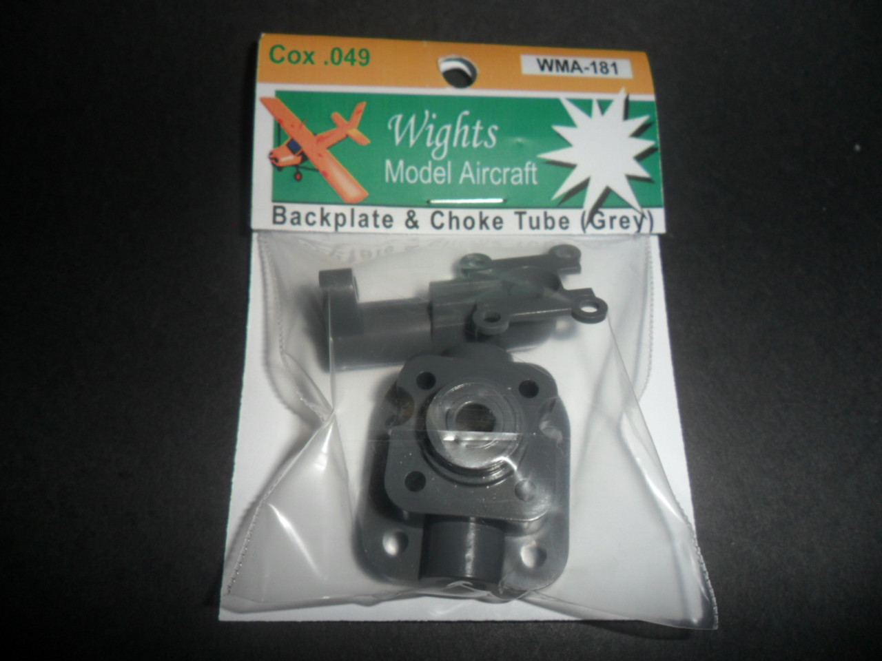 Backplate & Choke Tube - (WMA-181)