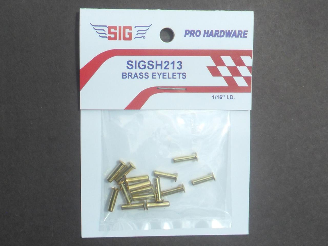 Brass Eyelets  - 1/16 I.D. - (SH-213)