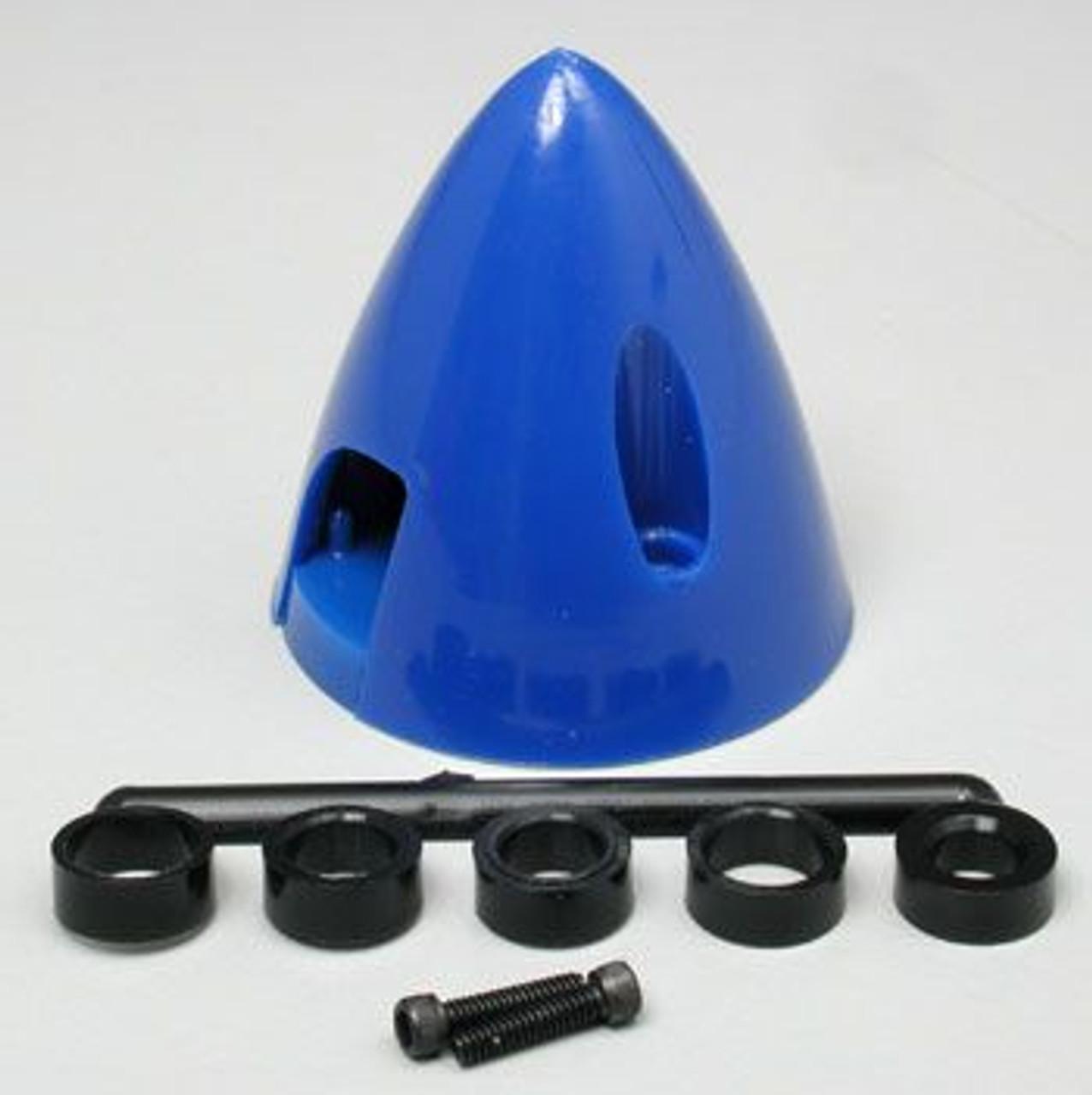 Spinner - 38mm (1-1/2in)  Blue - (DU-264)