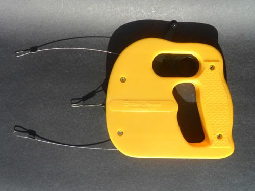 Handle - 3 Line Throttle Control Flying Handle  - Yellow - (BCH-371)