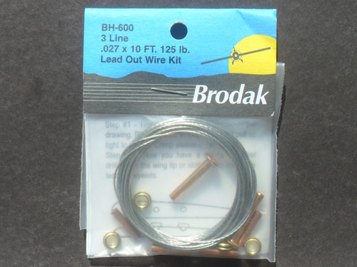 Leadout Wire Kit  - 3 Line -  (0.27) - (BH-600)