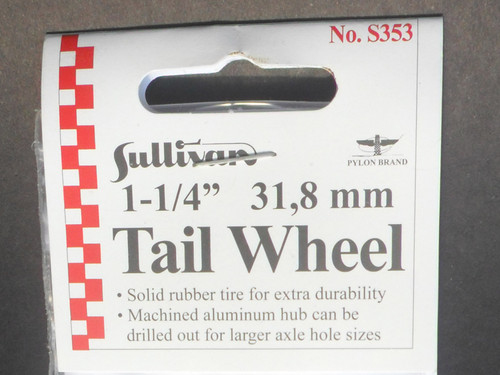"Tail Wheel - 31.8mm (1-1/4"") - (S-353)"