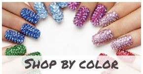 Crystal and Rhinestones for Nails - By Color
