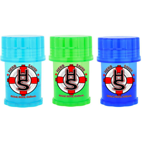 Large Herb Saver Herb Grinder Assorted 3 PACK Choose your own colors