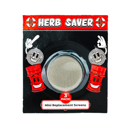 Herb Saver Replacement Pollen Screens 3 Pack for Mini HerbSaver