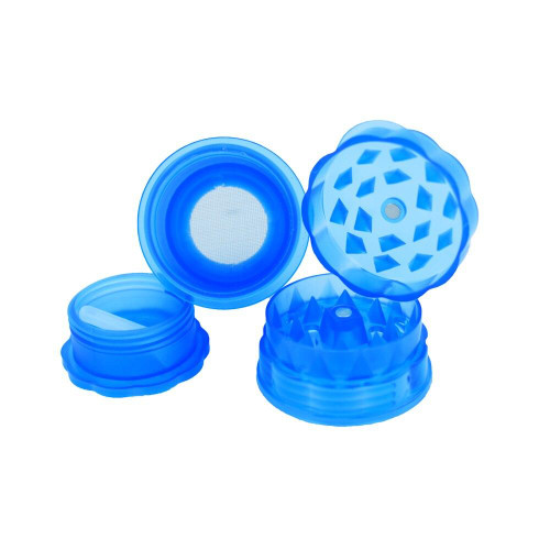 *HIGH  QUALITY* GRINDER herb saver  container medtainer CLEAR # large size #