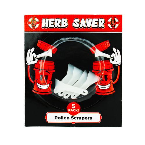 Herb Saver 5 pack Pollen Clear Scrapers