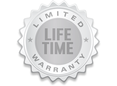 Limited Lifetime Warranty verification seal