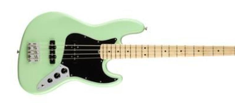 American Pro Jazz Bass Green