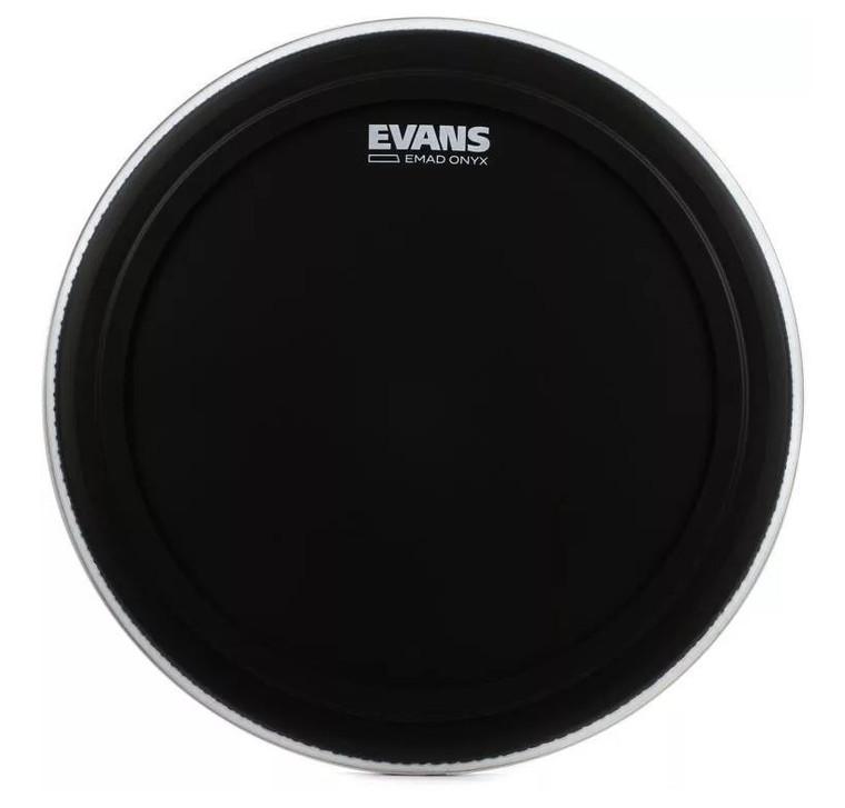 "Evans 18"" EMAD Reso Black"