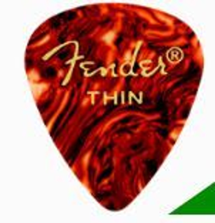 Fender Shell Picks Thin