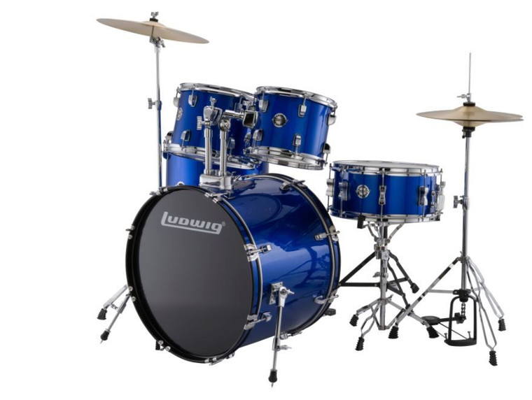 Ludwig Accent Fuse Blue