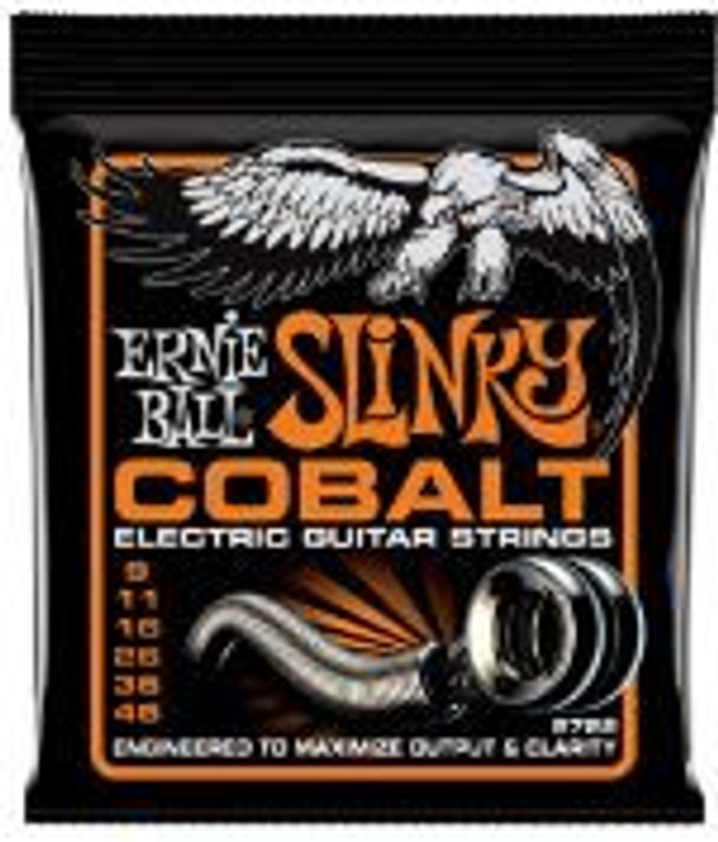 Ernie Ball Slinky Cobalt 09-46 Electric Guitar Strings
