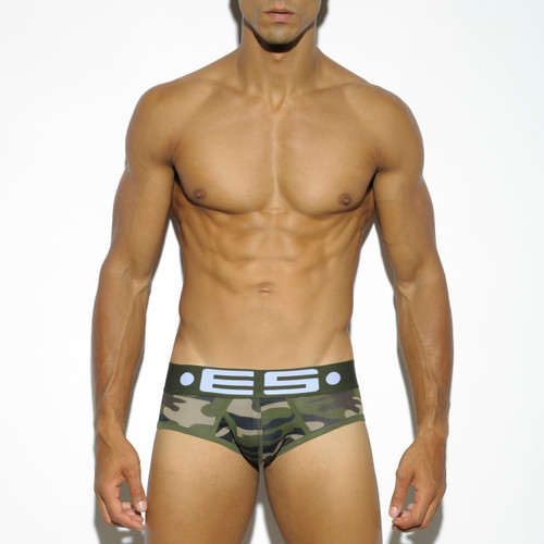 ES Collection Underwear 426 Basic Cotton Brief Camo (426-17)