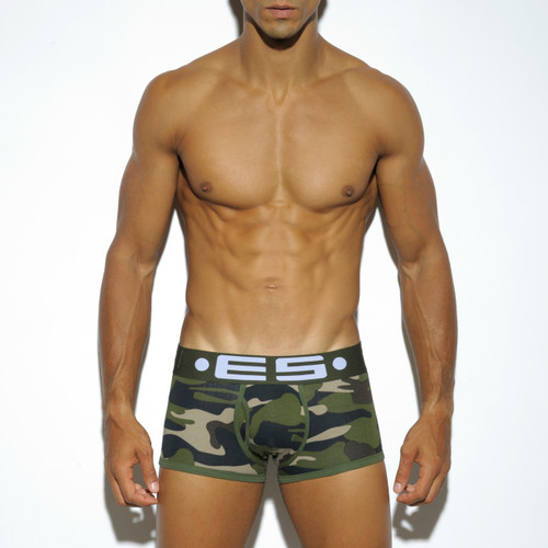 ES Collection Underwear 426 Basic Cotton Trunk Camo (427-17)