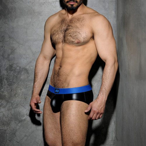Addicted Underwear Fetish Rubber Brief Blue (ADF48-16)