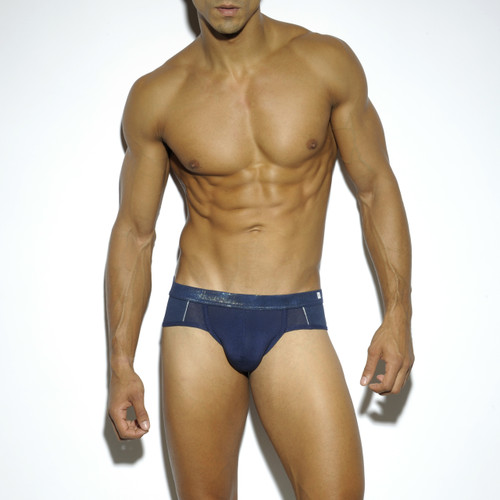 ES Collection Underwear UN199 Pixel Brief Navy (UN199-09)