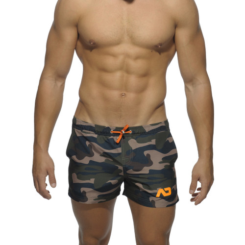 Addicted Swimwear Camouflage Shorts ADS096