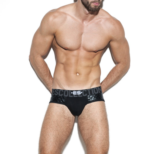 ES Collection Underwear UN277 Dystopia Signature Brief Black (UN277-10)