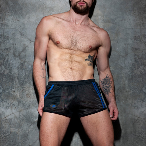 Addicted Fetish Pocket Rocky Shorts Royal Blue ADF125