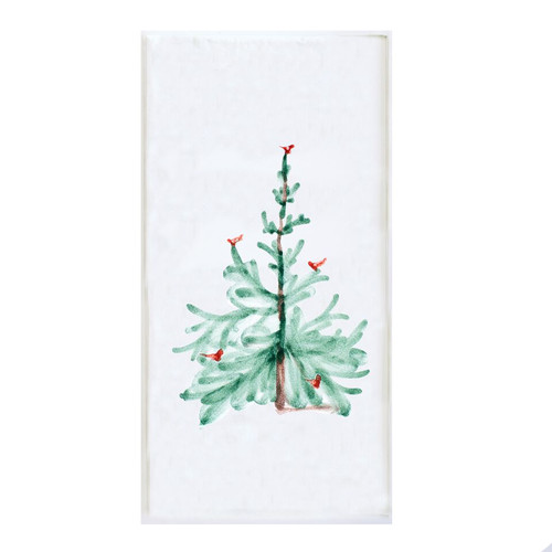 """Lastra Holiday Paper Guest Towels  Pack/16  LAH-1806B Guest Towels measure 4 3/8"""" x 7 3/4"""""""