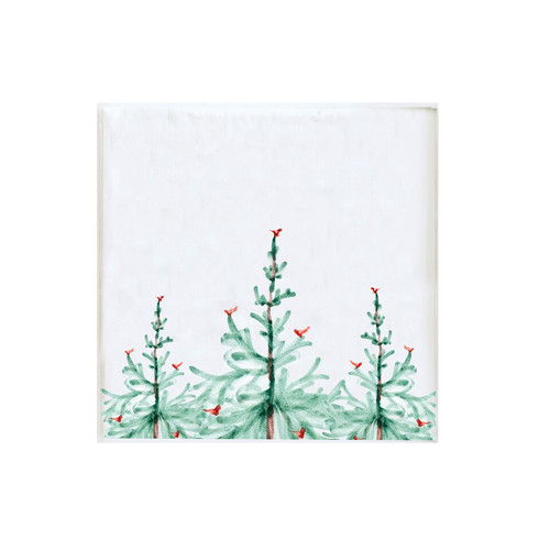 """Lstra Holiday Paper Cocktail Napkins Pack/20  LAH-1805B  4.75"""" Sq"""