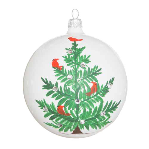 "Lastra Holiday Tree Ornament  LAH-2701 4""D"