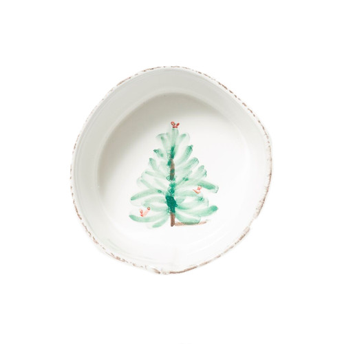 """Lastra Holiday Condiment Bowl  LAH-2603 4""""D"""
