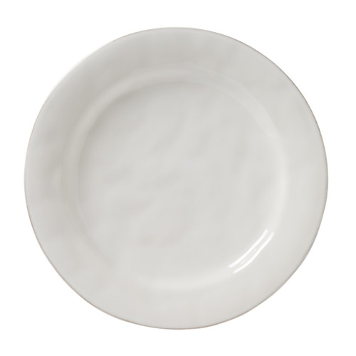 """Puro Whitewash Dinner Plate  № KS01/10  From our Puro Collection - Inspired by the Portuguese regard for objects found in their most natural and uncontrived state, we created this simultaneously modern and timeless collection - simply beautiful by design, richly textural, and the perfect neutral canvass to serve up your every culinary adventure. Also ideal for layering with our additional whitewash collections with wild abandon.  Measurements: 11"""" W Made of Ceramic Stoneware Oven, Microwave, Dishwasher, and Freezer Safe Made in Portugal"""