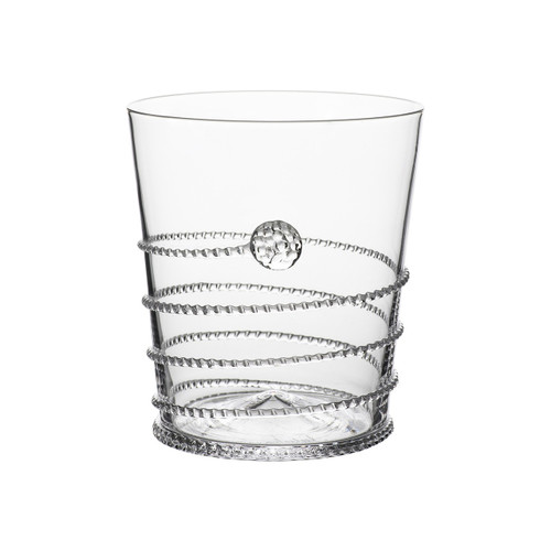 """Amalia Double Old Fashioned Glass  № B377A/C  From our Amalia Collection - Our Amalia spiral is perfect for swirling your favorite Bourbon, Scotch, or Rye on the rocks or with a splash of water.  Measurements: 3.5"""" W, 4"""" H Capacity: 14 ounces Made in Czech Republic Dishwashers safe, Warm gentle cycle. Not suitable for hot contents, freezer or microwave use."""