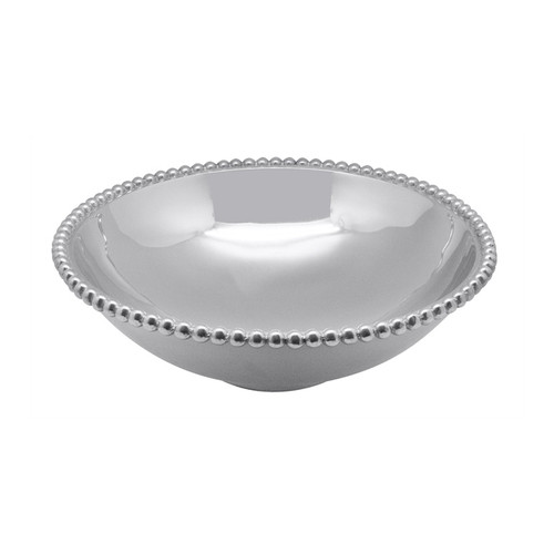 Pearled Large Serving Bowl