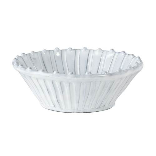 """Mix and match this Incanto White Stripe Cereal Bowl with other Incanto designs to create a unique, irresistibly Italian setting. 7"""" D INC-1105A"""