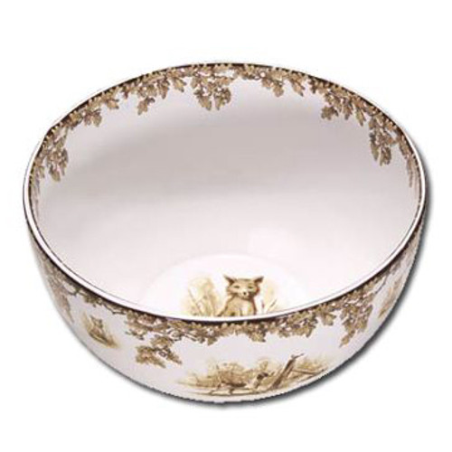 C.E Corey Aiken Hound Deep Serving Bowl
