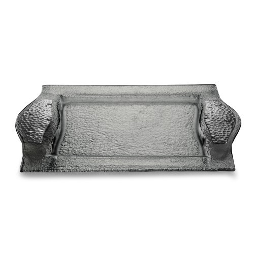 Arte Italica Notturno, meaning night, combines beautiful smoky glass with pewter accents reminiscent of a starry night sky. Each piece is perfect for entertaining guests with culinary delights.. Hand made in Italy.Hand wash only.Dimensions: 10.75