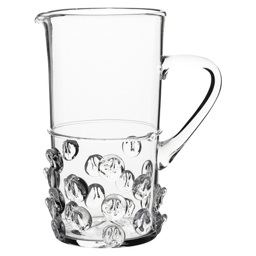 Florence Pitcher  № B250/C From Juliska's Florence Collection - The historic Bohemian 'Prunt' motif of indulgent droplets on this substantial pitcher from plumpuddingkitchen.com are opulent, fun and irresistibly tactile.