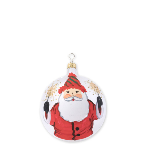 "Vietri Old St Nick 2018 Limithed Edition Ornament  OSN-2717-LE 4""D  What could be more whimsical than the individual portraits of Vietri's Old St. Nick from plumpuddingkitchen.com!"