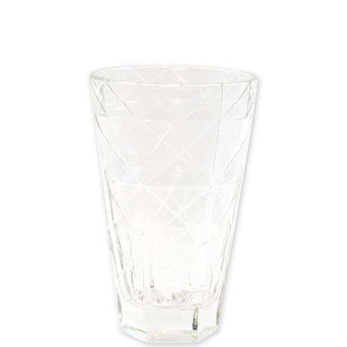 "Viva Vietri Prism Clear Tall Tumbler  VPRM-8838CL 5.75""H, 14oz  Mix and match the Prism Glass from plumpuddingkitchen.com for bridal shower brunches, surprise engagements, or wine nights with your favorite girls."
