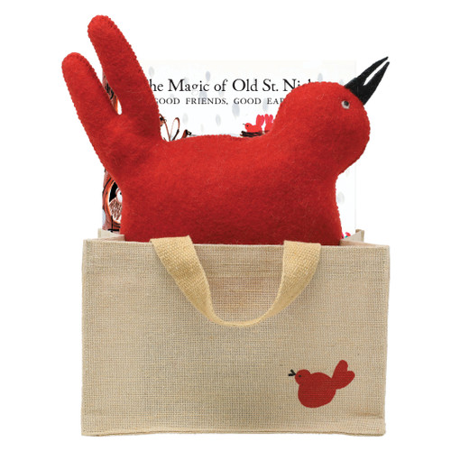 "Vietri The Magic of Old St Nick: Good Friends, Good Earth Gift Set OSN-37002-D  ""Old St. Nick The Magic of Old St. Nick: Good Friends, Good Earth Gift Set from plumpuddingkitchen.com