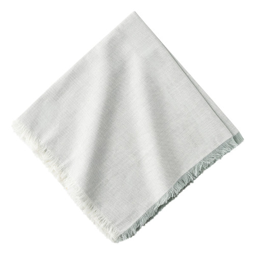 "Juliska Essex Grey Napkin Set/4 LB78/88 20"" SQ  A timeless neutral, our Essex Grey napkins are textural with a subtle cross weave effect.  Machine wash cold, gentle cycle. Tumble dry low, warm iron as needed."