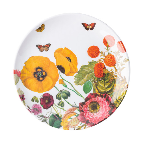 "Juliska Field of Flowers Melamine Dessert/Salad Plate MA108/88 9""W Like your own personal garden, these new dessert/salad plates are full of flowers and whimsy made in our durable melamine, perfect for Mother's Day or your love for springtime blooms."