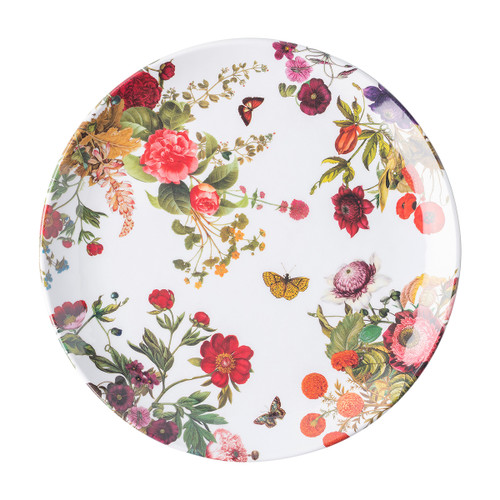 "Juliska Field of Flowers Melamine Dinner Plate MA107/88 11""W Like your own personal garden, these new dinner plates are full of flowers and whimsy made in our durable melamine, perfect for Mother's Day or your love for springtime blooms."